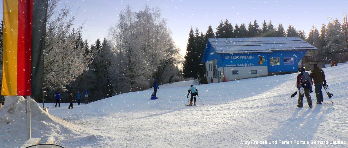 Aktivurlaub in Bayern Skifahren am Geisskopf Aktivhotel buchen