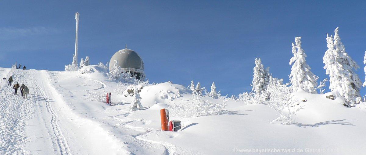 Skigebiete im Bayerischen Wald Skifahren und Langlaufen
