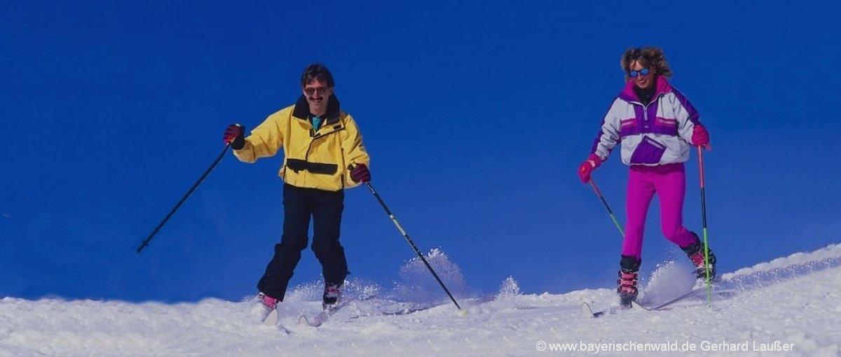 Bayerischer Wald Winterurlaub und Skiurlaub für Familien und Gruppen